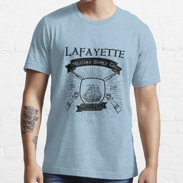 Guns and Ships - Black Essential T-Shirt