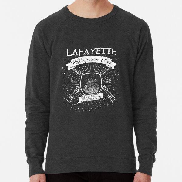 Guns and Ships - White Lightweight Sweatshirt