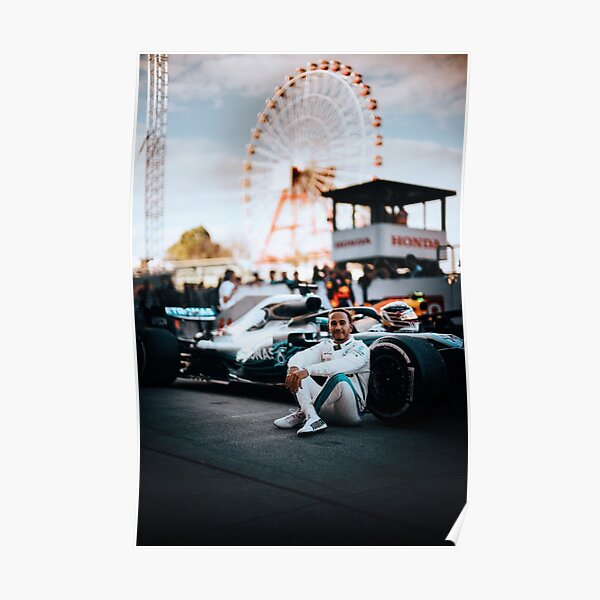 Lewis Hamilton # 002 Poster
