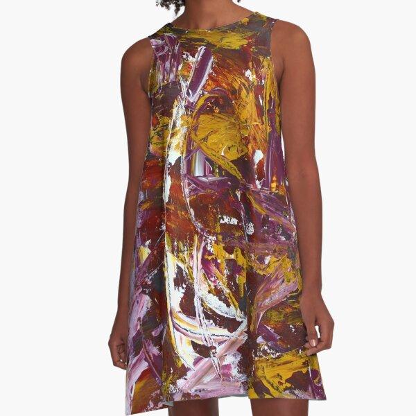 Still Life from my Backyard A-Line Dress