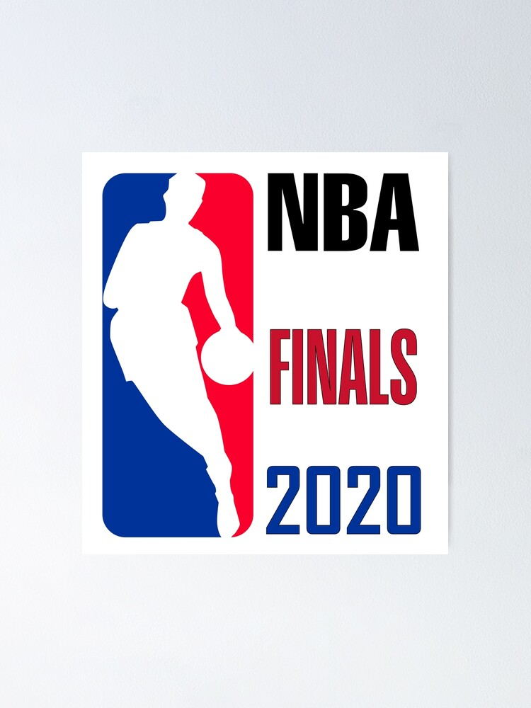 Nba Finals 2020 Poster By Designer Amjed Redbubble