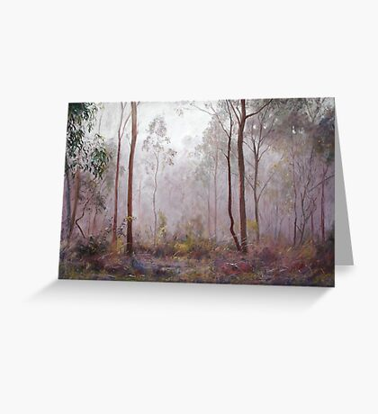 'Winter at Wickham' Greeting Card