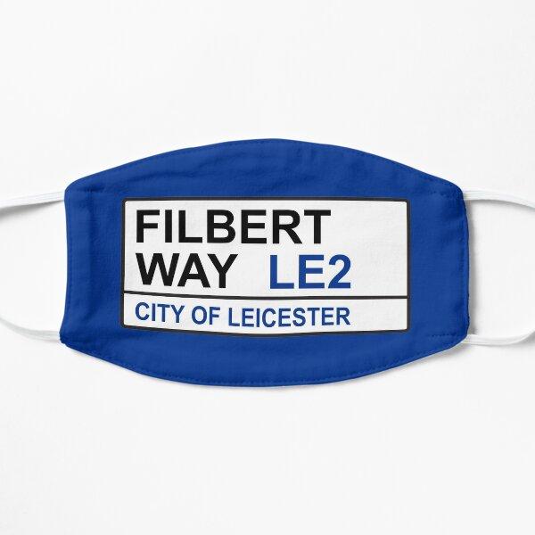 Leicester City Football Team Filbert Way Street Sign Mask