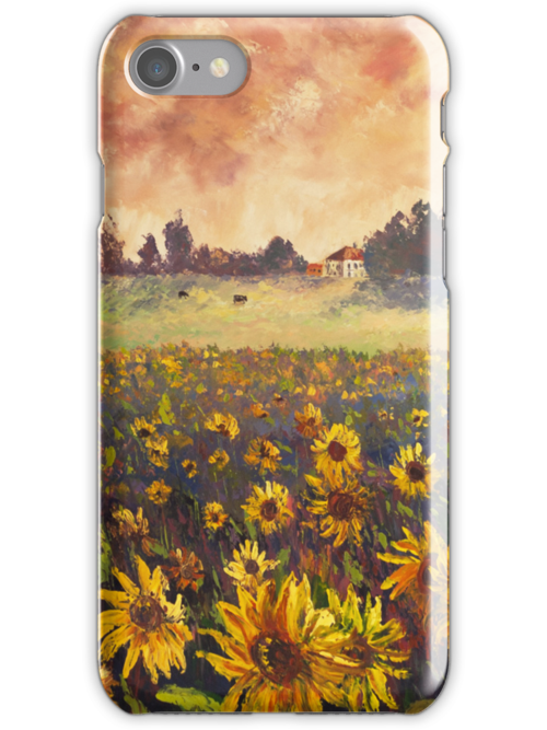 Sunflower Field by HelenBlair
