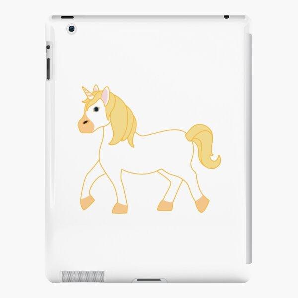 Yellow Unicorn Emoji iPad Snap Case