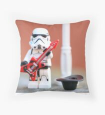 Busking Stomie Throw Pillow