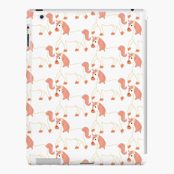 Orange Unicorn Emoji iPad Snap Case