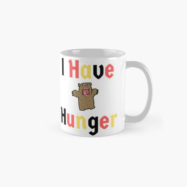 Hungry Bear Clever Funny German Deutsch Classic Mug