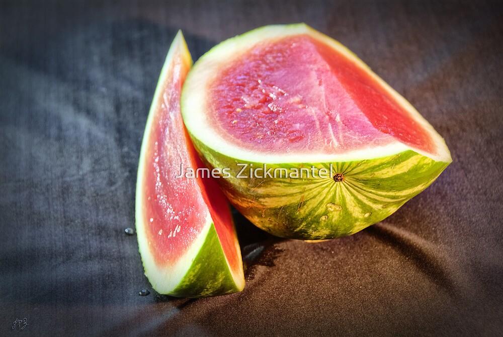 Watermelon Smiles by James Zickmantel
