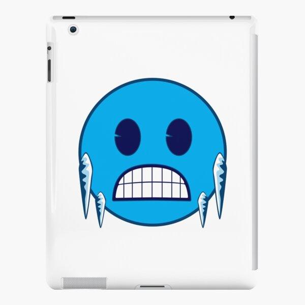 Freezing Face Emoji iPad Snap Case
