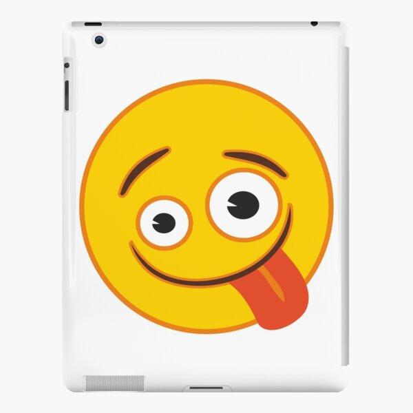 Zany Face Emoji iPad Snap Case