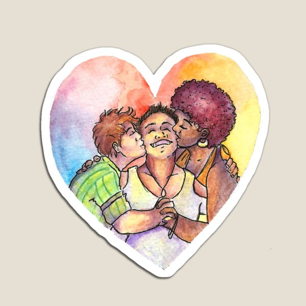 Today (Even Polyamorous) Love Wins Magnet