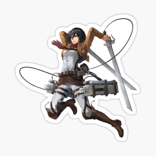 Mikasa - Ataque a titanes Pegatina