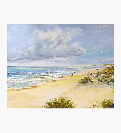 Studland Beach Photographic Print