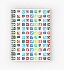 Apps Spiral Notebook