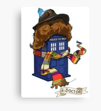 Time Lord 2 Canvas Print