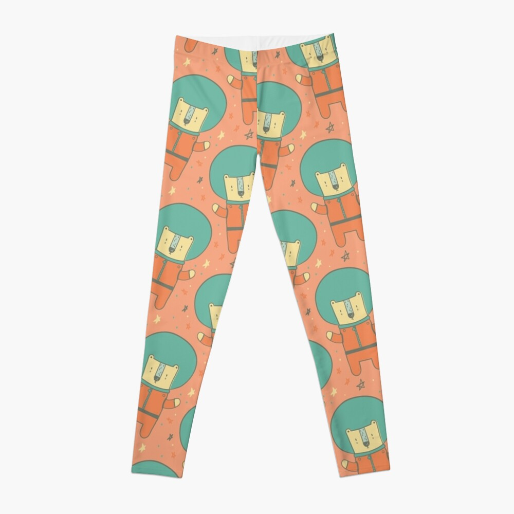 Bearly There in Dreamsickle  Leggings