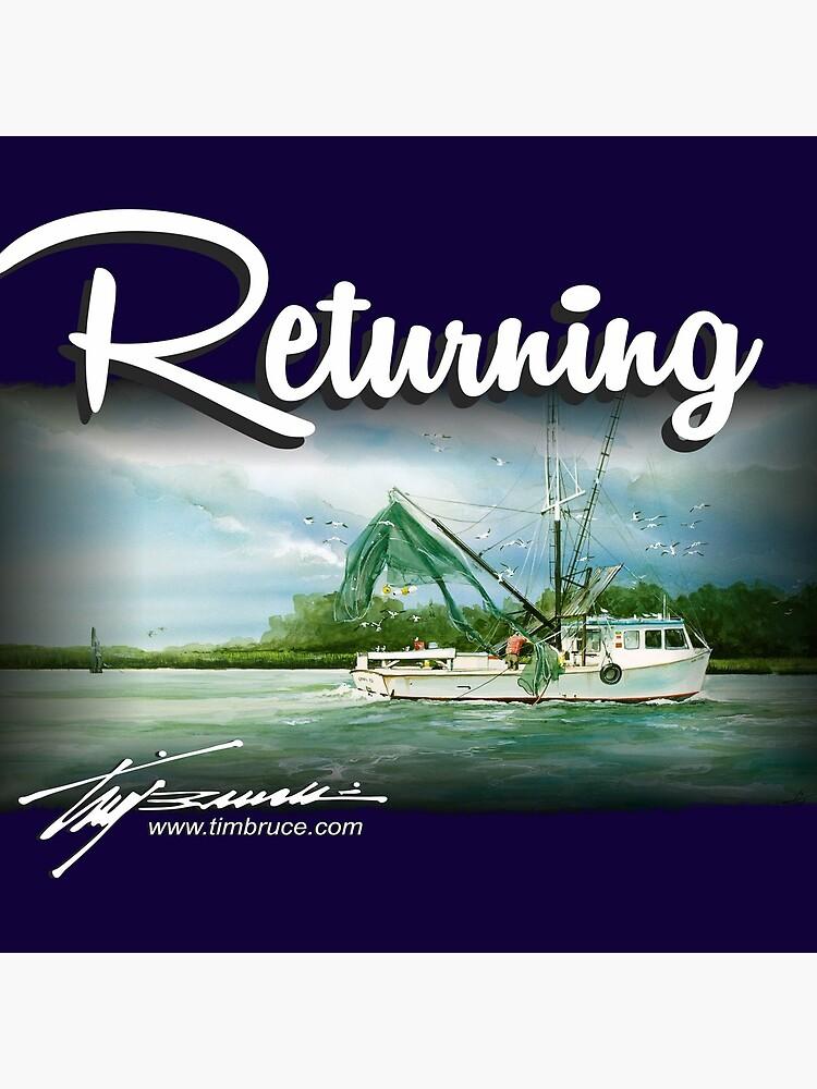 Returning by Tim Bruce by DKEriksenArt
