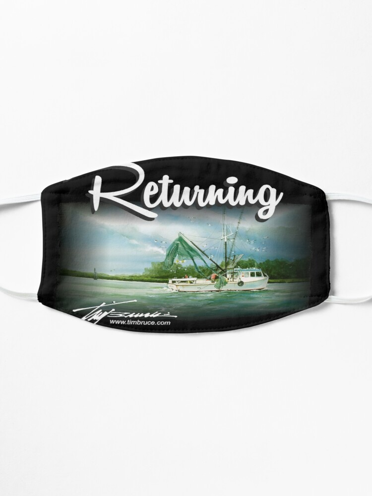 Alternate view of Returning by Tim Bruce Mask