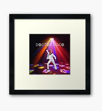 Doctor Disco Framed Print
