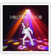 Doctor Disco Sticker