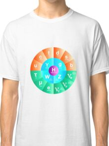 The Standard Model of Particle Physics Classic T-Shirt