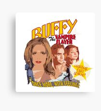 Btvs Once More With Feeling Canvas Print