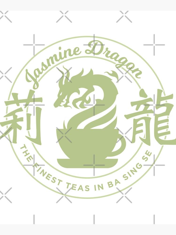 Jasmine Dragon Ba Sing Se Sticker by spacesmuggler
