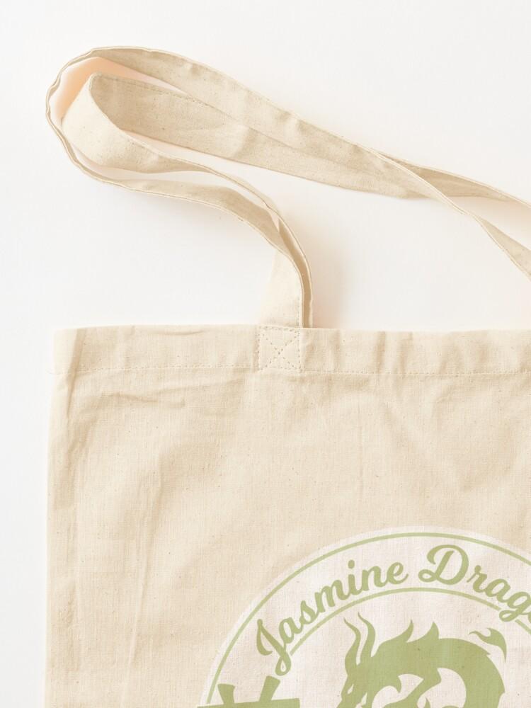 Alternate view of Jasmine Dragon Ba Sing Se Sticker Tote Bag