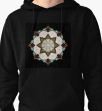 Natural Abstract Symmetry Pullover Hoodie