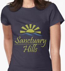 Sanctuary hills Women's Fitted T-Shirt