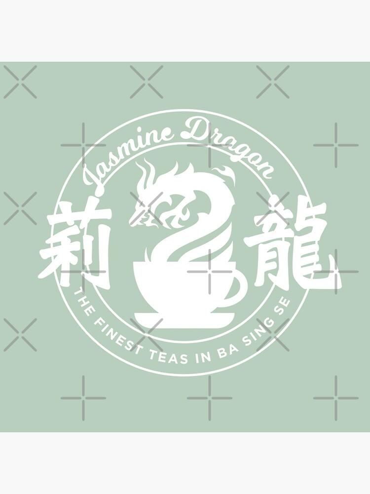 Jasmine Dragon Ba Sing Se (White) by spacesmuggler