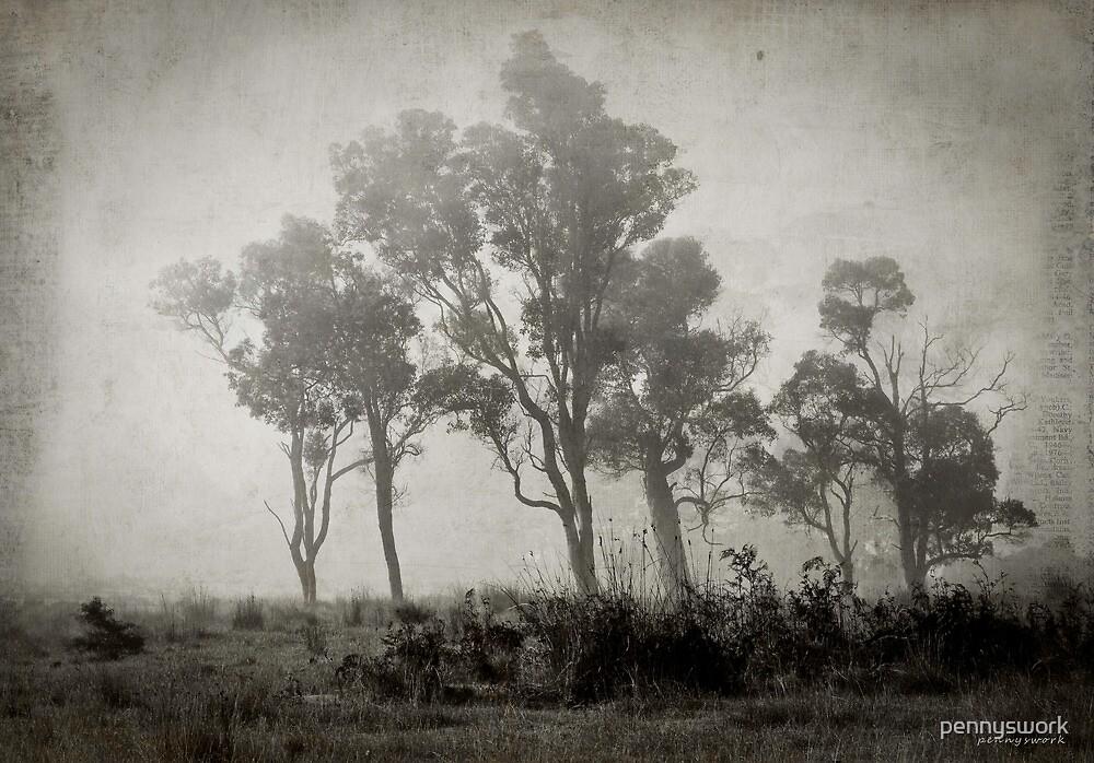 Misty Field by pennyswork
