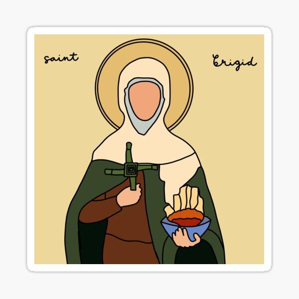Saint Brigid Sticker