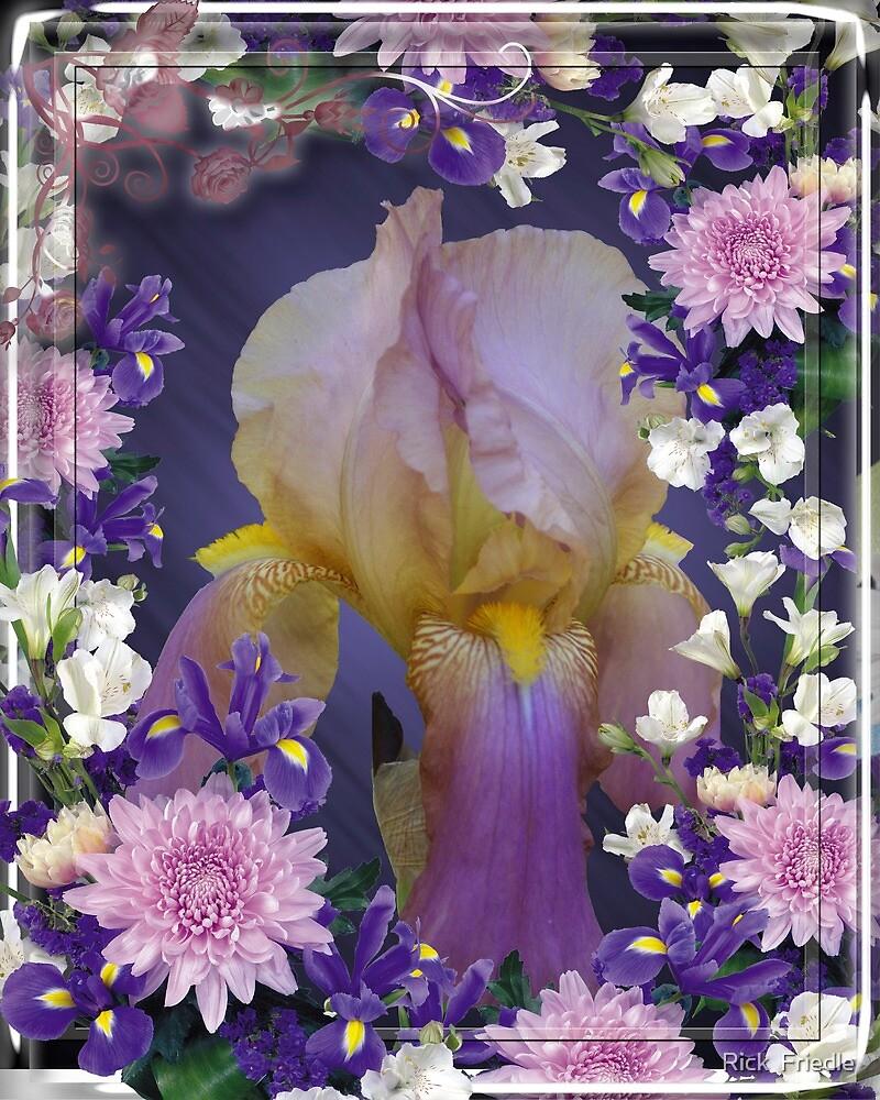 Iris Within by Rick  Friedle