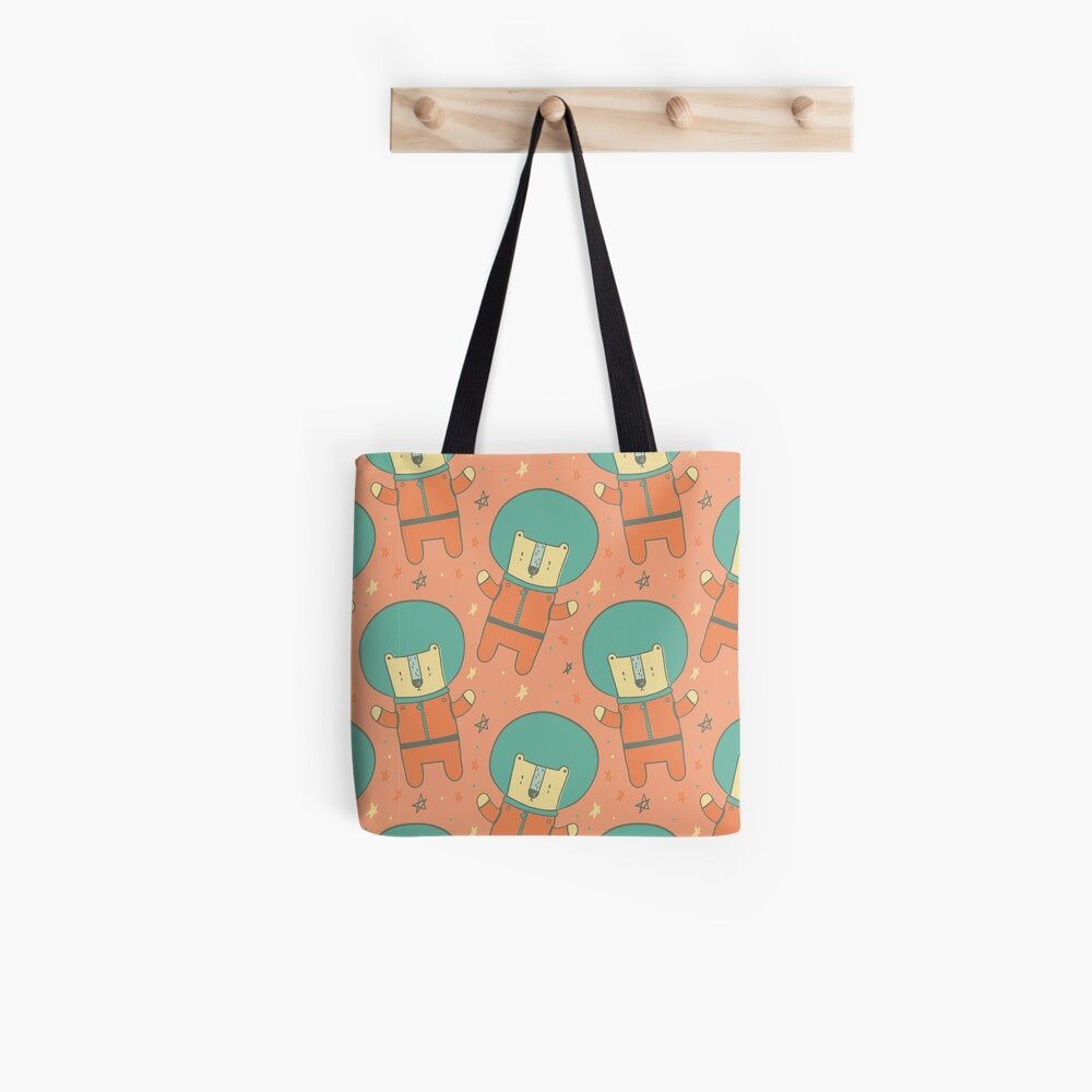 Bearly There in Dreamsickle  Tote Bag