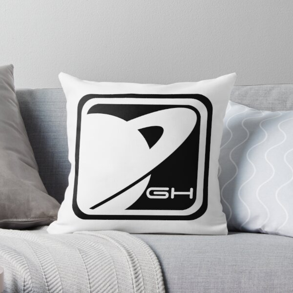 GH 2K15 ONE Hotblack  Throw Pillow
