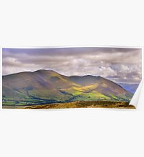 The Lake District: Skiddaw Poster