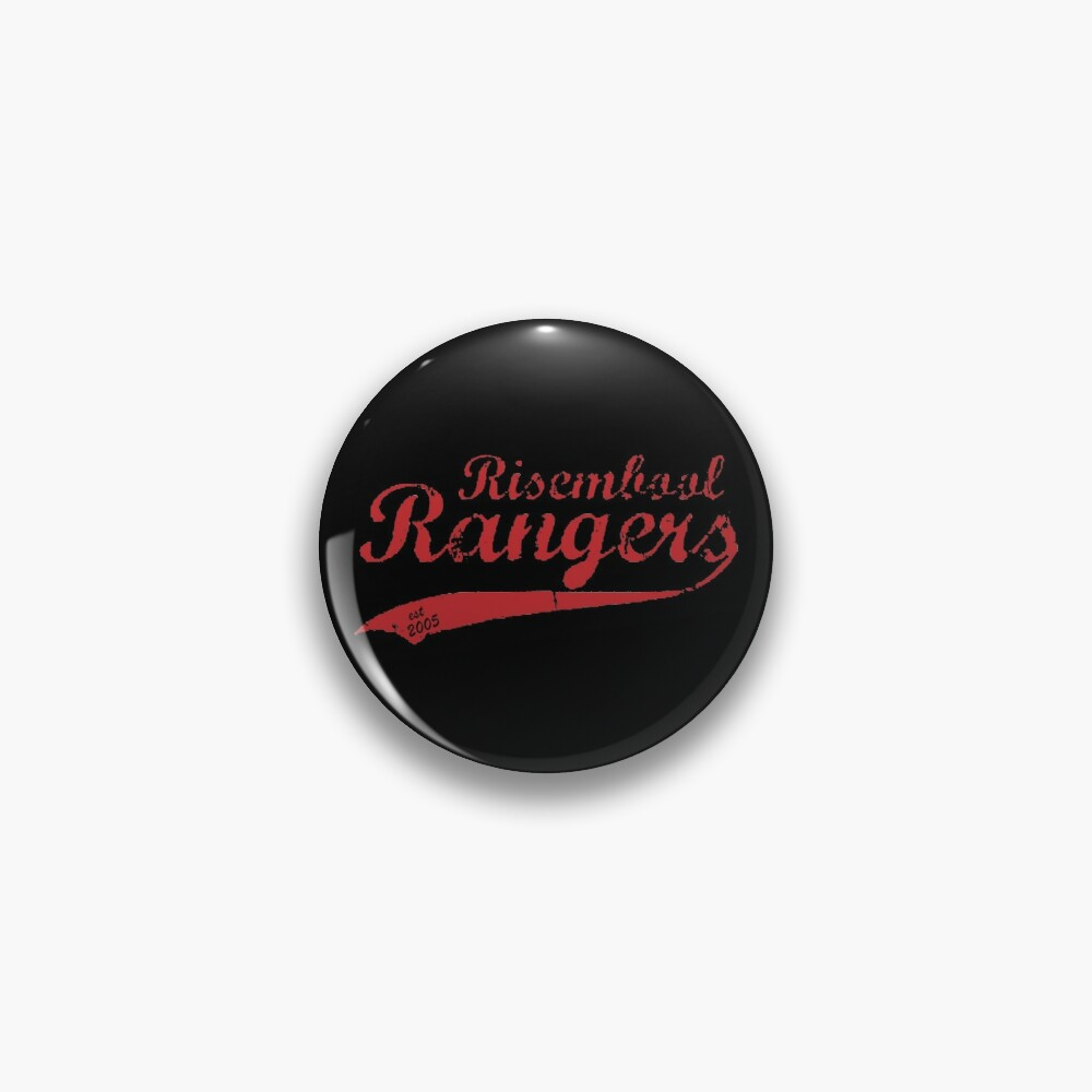 Risembool Ranger Softball Design Pin