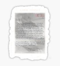 Dear Edith Crawley Sticker