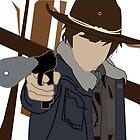 Carl - The Walking Dead by Danielle Vanderwerf
