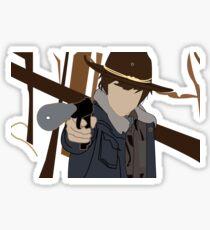 Carl - The Walking Dead Sticker