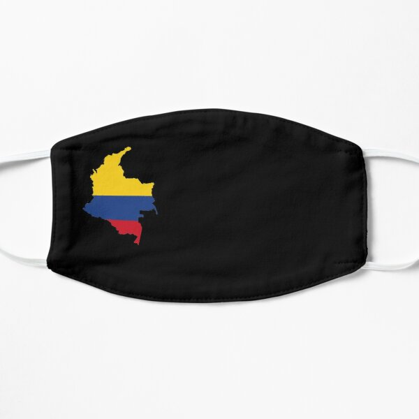 Colombia Map Flag Face Mask Mask