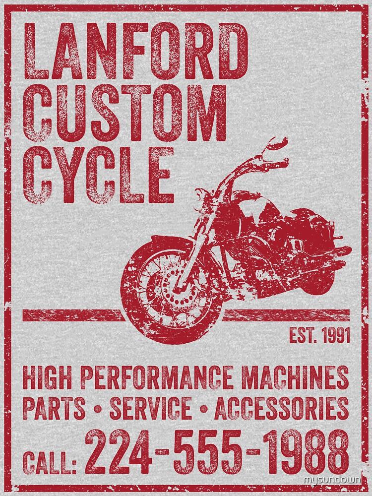 Lanford Custom Cycle | Unisex T-Shirt
