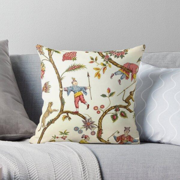 CHINOISERIE Modern Asian Throw Pillow