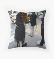 Don't walk Throw Pillow