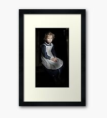 Lonely Child Framed Print
