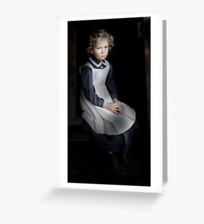 Lonely Child Greeting Card