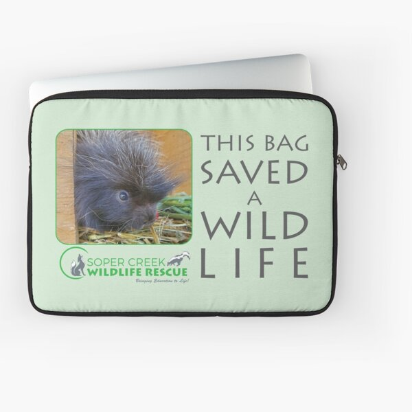 Baby Chewy - This bag helped SAVE a WILD life! Laptop Sleeve