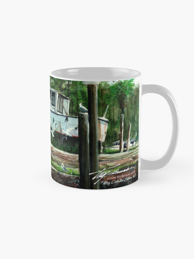 Alternate view of Dry Dock Coffee Mug Mug